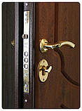 Дверь входная SteelArt Стандарт МИРА NEW МДФ/МДФ Дуб английский левая или правая, фото 2