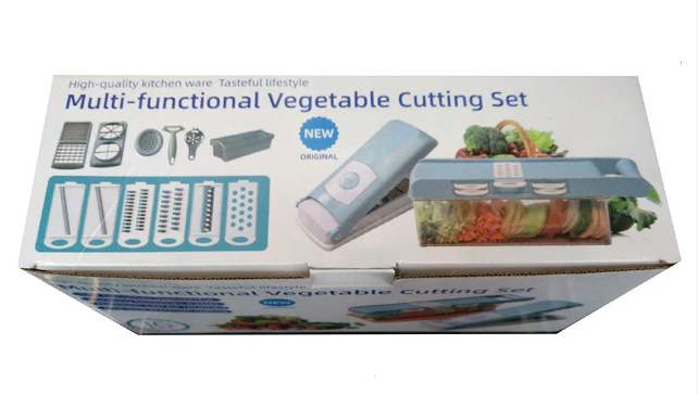 Овощерезка Wet Basket Vegetable Cutter 9в1