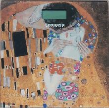 ВЕСЫ электронные - BES- KLIMT (Климт,квадрат.,макс-180кг) (GRUNHELM)