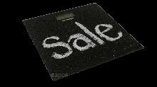 ВЕСЫ электронные - BES-1SL (Sale,квадрат.,макс-180кг) (GRUNHELM)