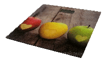 ВЕСЫ электронные - BES-1AP (Яблоко,квадрат.,макс-180кг) (GRUNHELM)