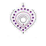 Украшения для груди и бикини FLAMBOYANT со стразами розово-фиолетовый, Bijoux Indiscrets, фото 3
