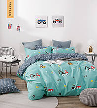 Комплект постельного белья полуторный сатин Bella Villa B-0244