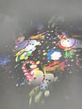 Диско LASER Light комбо Дед мороз Снежинка Елка Сани Олени Снеговик  SE 328-01, фото 5