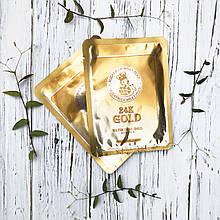 Омолаживающая маска с золотом и секретом улитки ELIZAVECCA 24K Gold Water Dew Snail Mask (1 Шт), 25 мл