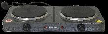 ЭЛЕКТРОПЛИТА (ДИСКОВАЯ) - GHP-5814 (2-2.4кВт/220В ДИСК ТЭН) (GRUNHELM)