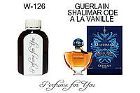 Женские наливные духи Shalimar Ode a la Vanille Герлен  125 мл