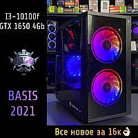 Игровой компьютер Intel Core i3-10100f / GTX 1650 4Gb / RAM 8Gb / HDD 500Gb / SSD 120Gb, фото 1