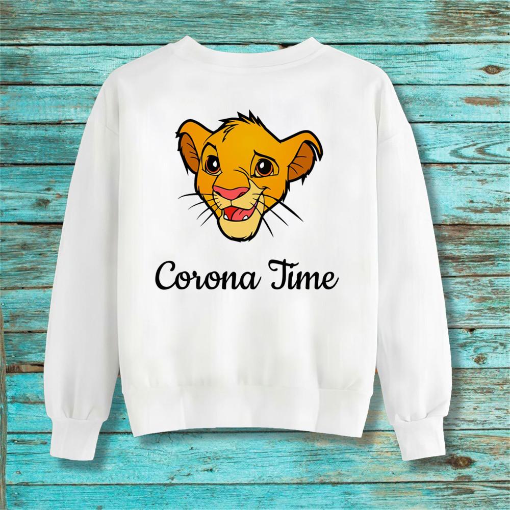 Худи Disney толстовка Simba Corona Time