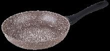 GT-2106-28 СКОВОРІДКА GUSTO, покриття Amber Stone, 280x53 мм