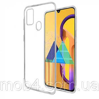 Силиконовый прозрачный чехол для Samsung Galaxy (Самсунг Гелекси) A21 S