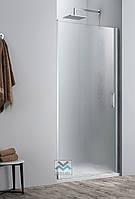 Душевая дверь в нишу VM Sanitary SD-1090 90x195 распашная двери для душа матовое безопасное стекло 6мм