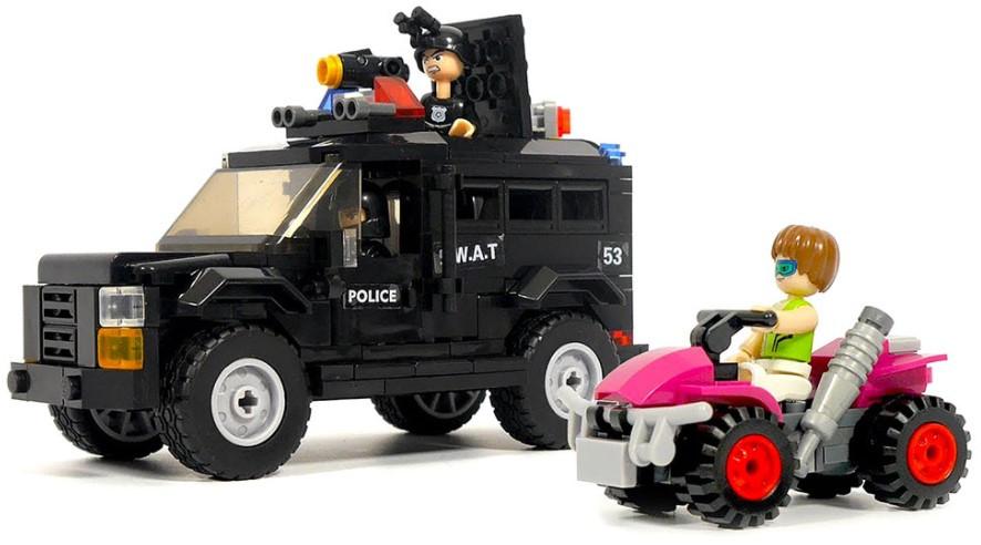 Конструктор Sluban M38-B0653 «Полицейская погоня» 293 детали