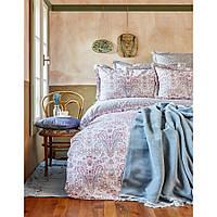Постельное белье Karaca Home - Luminda pembe 2018-1 розовый ранфорс евро