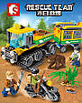 Конструктор Sembo 603029 Rescue Team Дослідники джунглів 282 деталей, фото 5