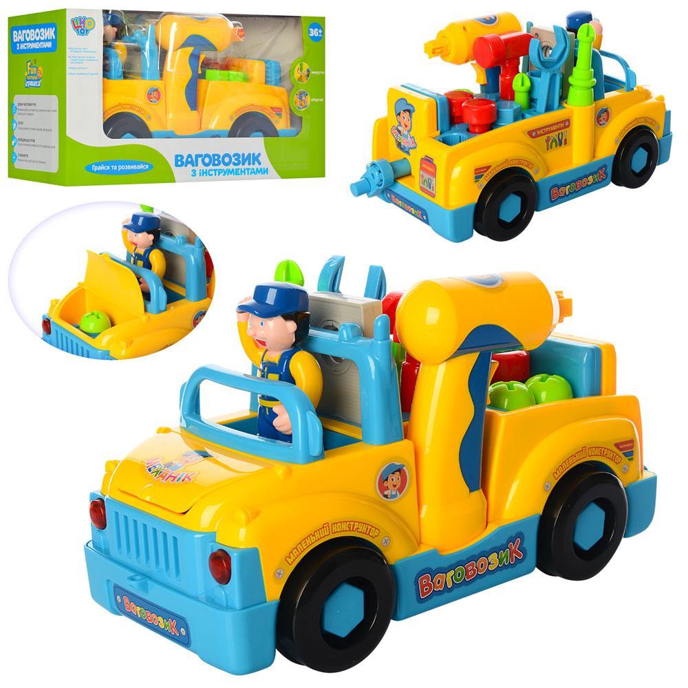Конструктор Limo Toy 789 Грузовик с инструментами Ваговозик