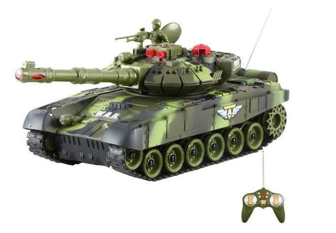 Танк 9993 Боевой танк на радиоуправлении