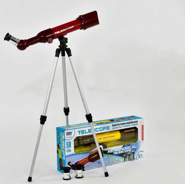 Телескоп игрушечный 6606A Красный