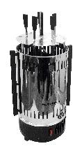 Электрическая шашлычница GSE10 (метал) 1000Вт, 5 шампуров (GRUNHELM)