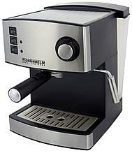 Эспрессо кофемашина GEC15, 850Вт 15 БАР (GRUNHELM)