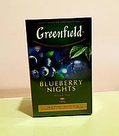 Чай Greenfield Blueberry Nights 100 г черный, фото 1