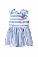 Плаття для дівчинки 98 см, сукня для дівчинки, 5.10.15, блакитна