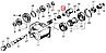 100-3570228 Кольцо уплотнительное 25х35 пневмоцилиндра КОМ КАМАЗ (БРТ), фото 5