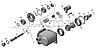 100-3570228 Кольцо уплотнительное 25х35 пневмоцилиндра КОМ КАМАЗ (БРТ), фото 6