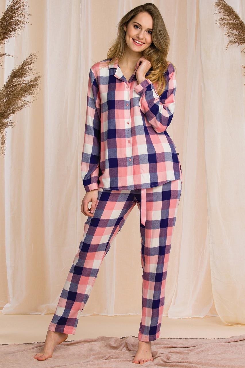 Пижама вискозная классическая Key LNS 405