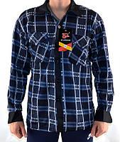Рубашка теплая мужская норма на флисе