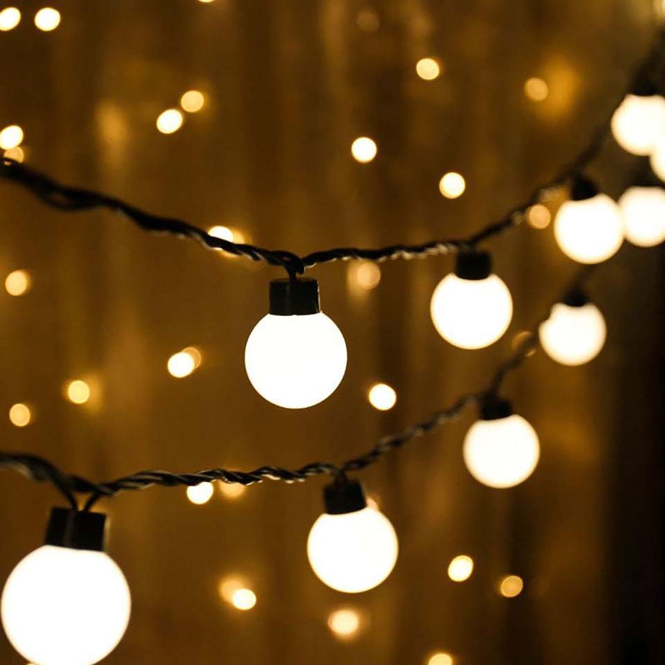 Ретро Гирлянда 5 м,20 LED, 220В, Светлодиодная Гирлянда Белт Лайт, Шарики, СС-1799-65 распродажа