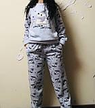 Тепла піжама жіноча, фото 2