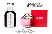 Женские наливные духи Echo Woman Давидофф  125 мл