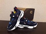 Синие кроссовки для мальчика ТМ Clibee., фото 3