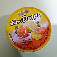 Леденцы Fine Drops лимон-апельсин 175 г, фото 1