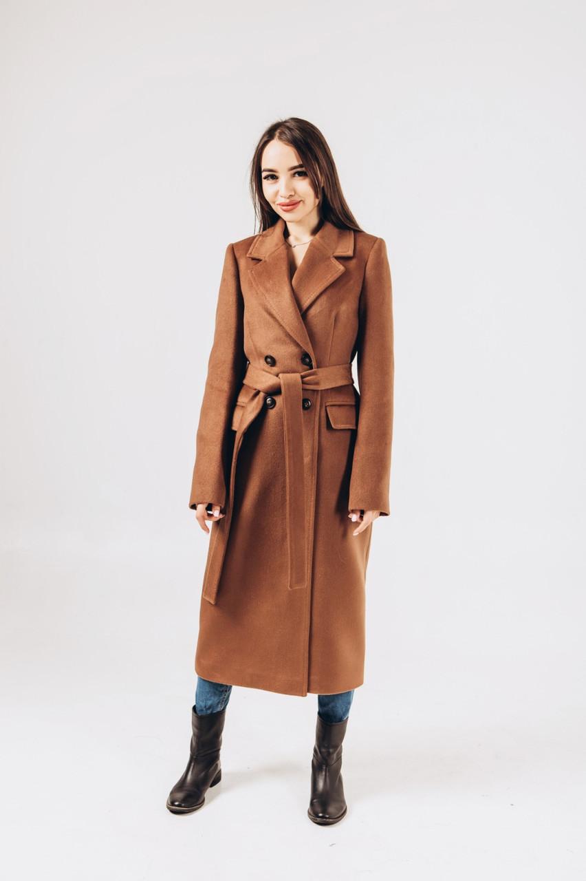 Женское пальто кемел O.Z.Z.E Д309