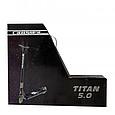 Трюковой самокат с пегами для прыжков Crosser Titan 5.0 Самокат для трюков 115 mm золотой, фото 10