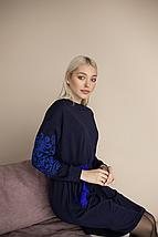 """Трикотажное платье вышиванка """"Орнамент"""", фото 2"""