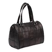 Женская кожаная сумка через плечо LT 5631 черная