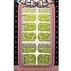 Наклейки Слайдеры для Дизайна Ногтей Ноготки Yamei Nails Самоклеящиеся №2013В № 08, Все для маникюра, фото 3