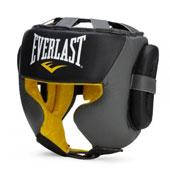 Шолом Everlast Professional C3 Sparring Headgear L/XL чорний/сірий + сертифікат на 200 грн в подарунок (код