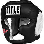 Шолом TITLE GEL® World Full-Face Training Headgear M чорний + сертифікат на 200 грн в подарунок (код 179-191952)