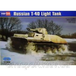 Советский легкий танк T-40 (код 200-313138)