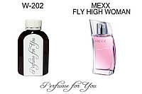 Женские наливные духи Fly High Woman Мекс  125 мл, фото 1