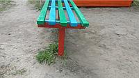 Середня нога для лавки в стилі Лофт, фарбована, фото 1