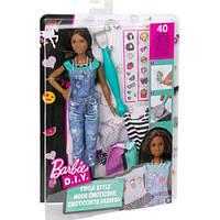 Mattel Игровой набор Барби Emoji Style Кукла с одеждой и аксессуарами