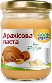 Арахисовая паста с белым шоколадом 180 г