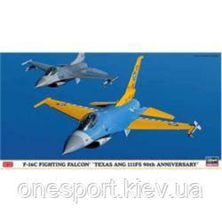 HA09811 F-16C FIGHTING FALCON TEXAS ANG 111FS 90TH ANNIVERSARY + сертификат на 50 грн в подарок (код
