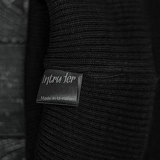 Мужская   Женская шапка Intruder черная, зимняя small logo, фото 2