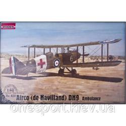 Самолет Де Хавиленд D.H.9/De Havilland (скорая помощь) (код 200-248637)